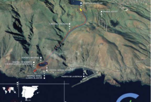 Greening the Islands Awards candidate: Wind and hydro join forces for balanced, clean energy supply on El Hierro