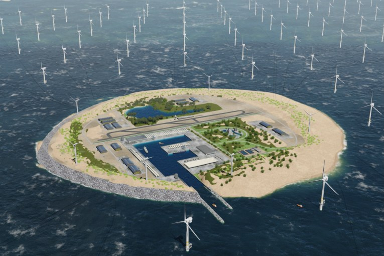 "Artificial islands in North Sea could be ""hubs"" for sustainable EU electricity system"